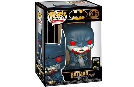 Funko Pop! 286 Batman 80th Anniversary Batman Red Rain