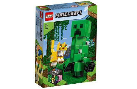 Lego Minecraft 21156 BigFig Creeper and Ocelot