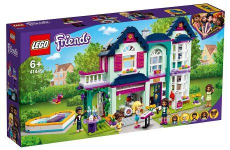 Lego Friends 41449 Andrea's Family House