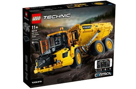 Lego Technic 42114 Volvo Articulated Hauler