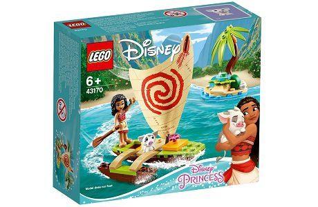 Lego Disney 43170 Moana's Ocean Adventure