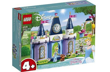 Lego Disney 43178 Cinderella's Castle Celebration