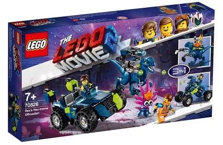 The LEGO Movie 2 70826 Rex's Rex-treme Offroader