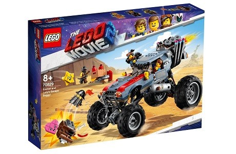 The LEGO Movie 2 70829 Emmet and Lucy's Escape Buggy