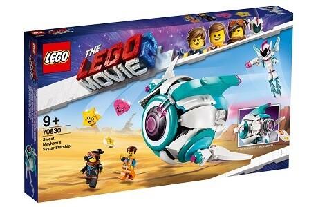 The LEGO Movie 2 70830 Sweet Mayhem's Systar Starship