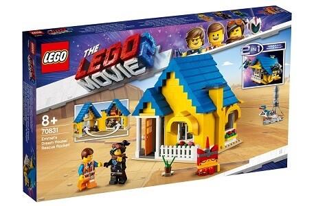 The LEGO Movie 2 70831 Emmet's Dream House Rescue Rocket