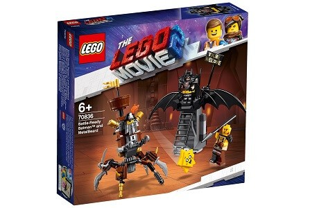 The LEGO Movie 2 70836 Battle Ready Batman and Metal Beard