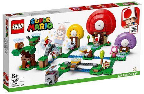 Lego Super Mario 71368 Toad's Treasure Hunt