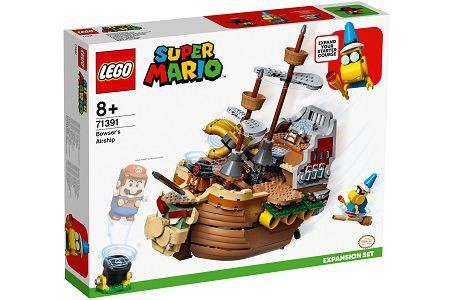 Lego Super Mario 71391 Bowser's Airship