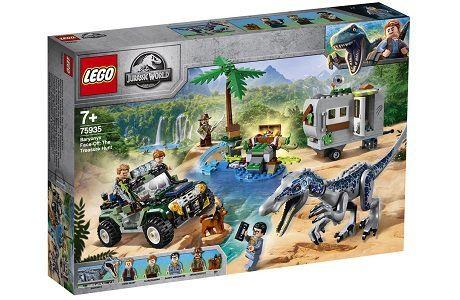 Lego Jurassic World 75935 Baryonyx Face Off: The Treasure Hunt