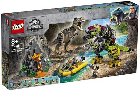 Lego Jurassic World 75938 T. rex vs Dino Mech Battle