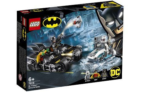 Lego DC Super Heroes 76118 Mr. Freeze Batcycle Battle