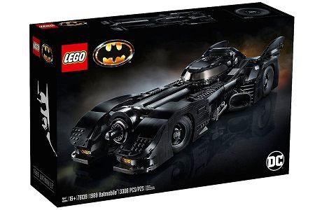 Lego DC Super Heroes 76139 1989 Batmobile