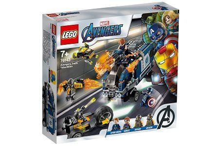Lego Marvel Super Heroes 76143 Avengers Truck Take down