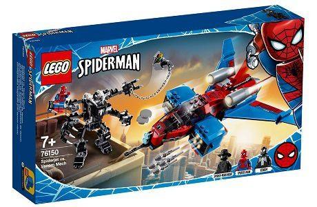 Lego Marvel Super Heroes 76150 Spider-Man Jet vs. Venom Mech