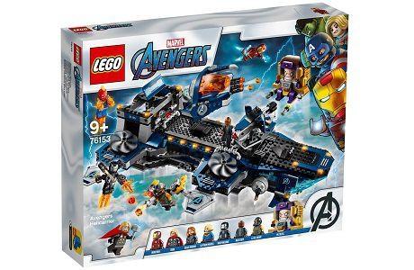 Lego Marvel Super Heroes 76153 Avengers Helicarrier