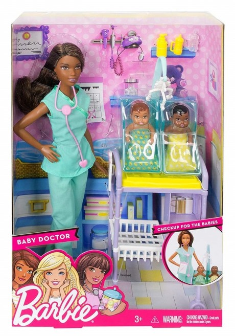 Barbie Careers Baby Doctor Set Brunette