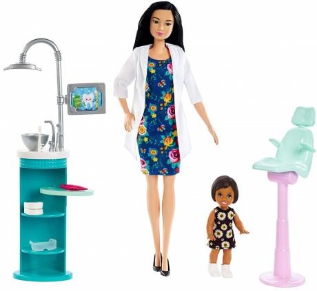 Barbie Dentist Doll Playset-4