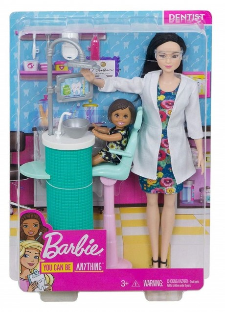 Barbie Dentist Doll Playset-1