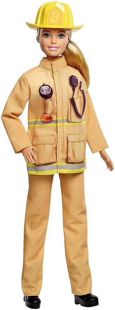 Barbie Careers Firefighter-1