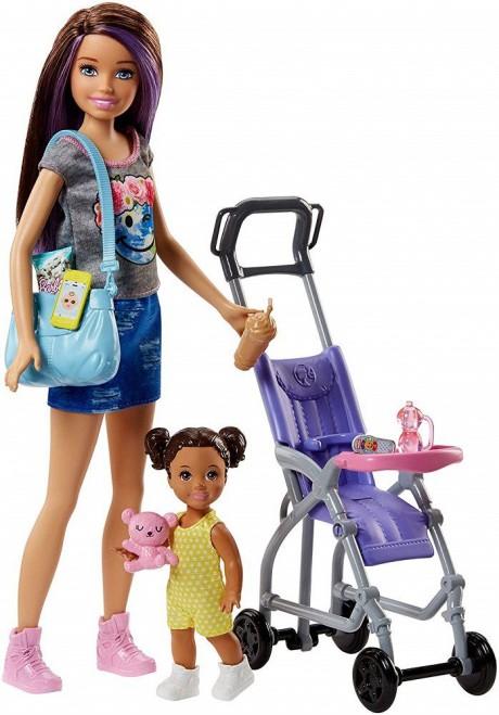 Barbie Skipper Babysitters Playset-1