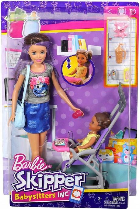 Barbie Skipper Babysitters Playset