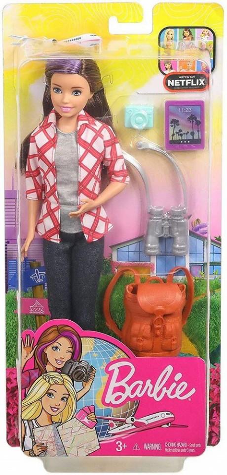 Barbie Travel Doll Playset