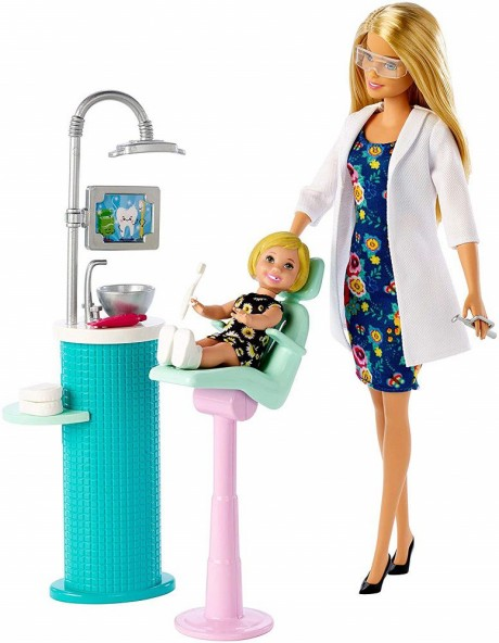 Barbie Dentist Doll Playset-3