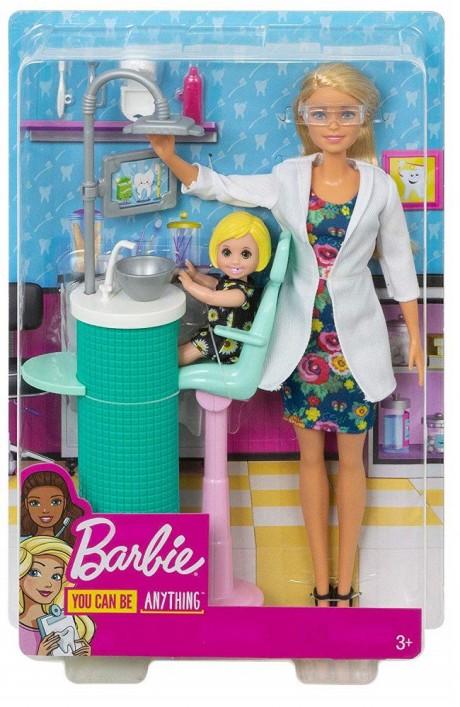 Barbie Dentist Doll Playset