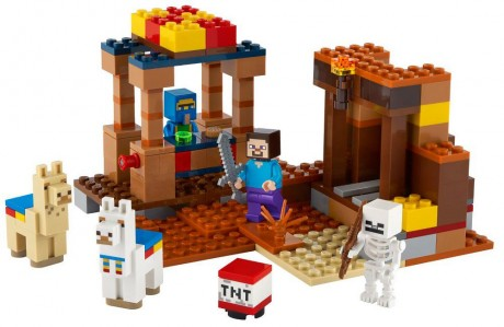 Lego Minecraft 21167 The Trading Post-1