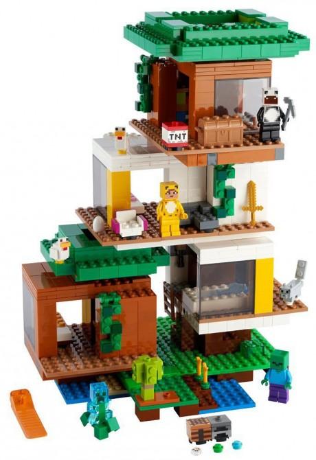 Lego Minecraft 21174 The Modern Treehouse-1