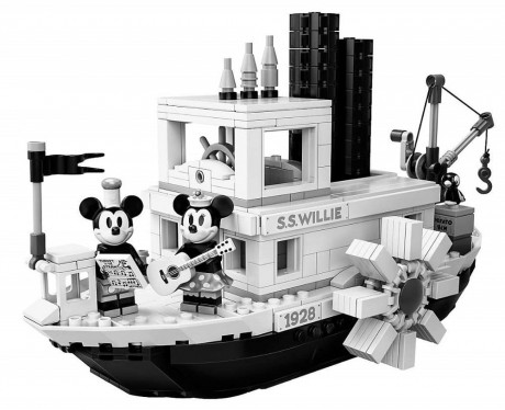 Lego Ideas 21317 Steamboat Willie-1