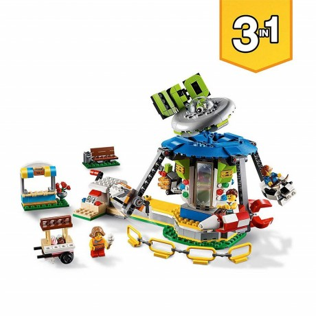Lego Creator 31095 Fairground Carousel Set-3