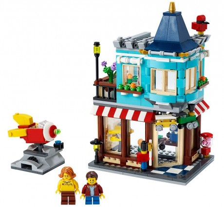 Lego Creator 31105 Townhouse Toy Store-1