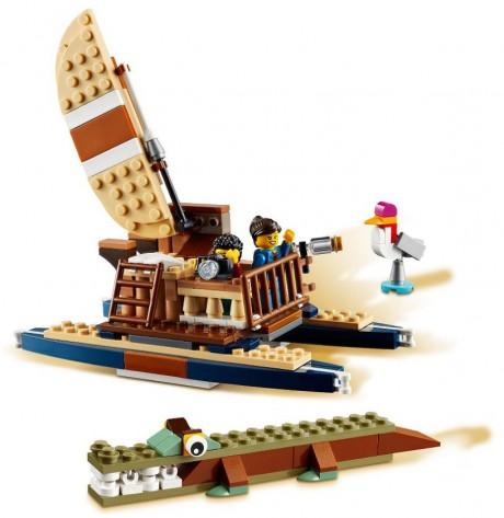 Lego Creator 31116 Safari Wildlife Tree House-3