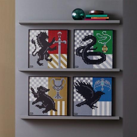 Lego Art 31201 Hogwarts Crests-1