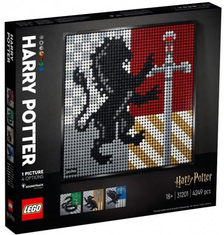 Lego Art 31201 Hogwarts Crests