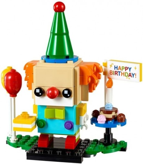 Lego BrickHeadz 40348 Birthday Clown-1