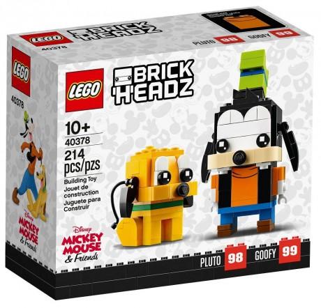 Lego BrickHeadz 40378 Pluto and Goofy