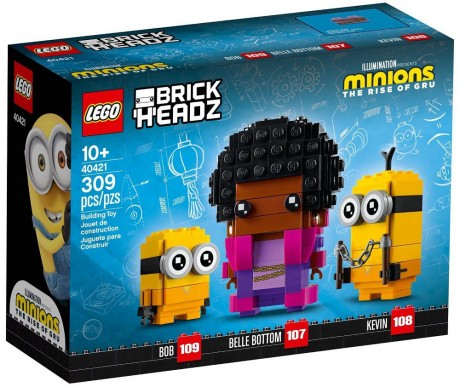 Lego BrickHeadz 40421 Belle Bottom, Kevin and Bob