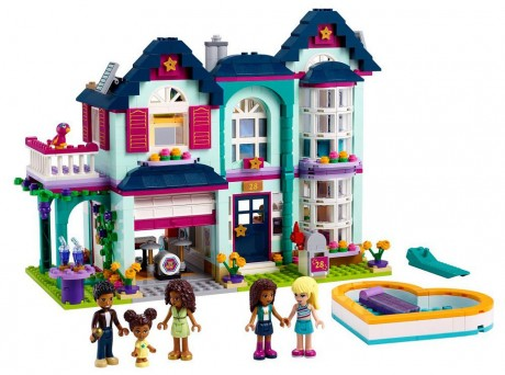 Lego Friends 41449 Andrea's Family House-1