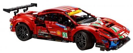 "Lego Technic 42125 Lego Technic 42125 Ferrari 488 GTE ""AF Corse #51-1"