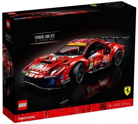 "Lego Technic 42125 Lego Technic 42125 Ferrari 488 GTE ""AF Corse #51"