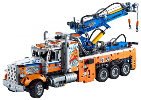 Lego Technic 42128 4x4 Heavy-duty Tow Truck-1