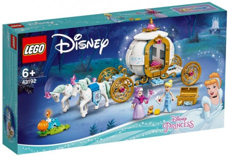 Lego Disney 43192 Cinderella's Royal Carriage