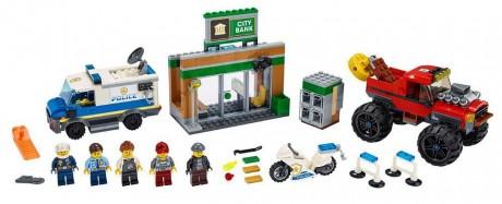 Lego City 60245 Police Monster Truck Heist-1