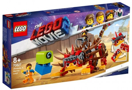 The LEGO Movie 2 70827 Ultrakatty and Warrior Lucy