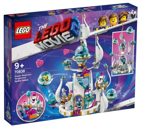 The LEGO Movie 2 70838 Queen Watevra's Space Palace