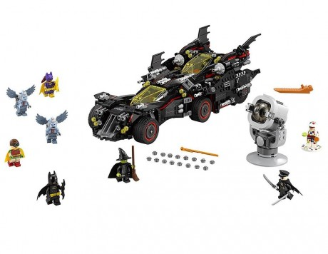 Lego Batman Movie 70917 The Ultimate Batmobile-1