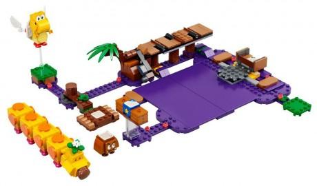 Lego Super Mario 71383 Wiggler's Poison Swamp-1